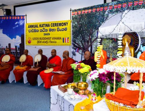 Kathina Ceremony (කඨින මහා පූණ්යමහෝත්සවය) – 2019